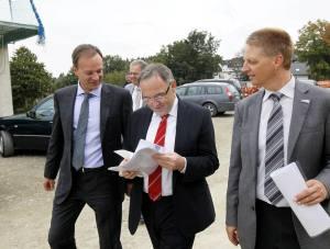Winterberg praesentiert Millioneninvest dem Landesfinanzminister