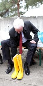 Wirtschaftsminister Duin in NRW