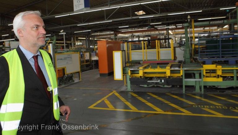 NRW Duin und die Energieprobleme der Glasindustrie