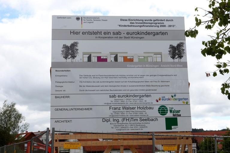 Nachhaltiger Kindergartenneubau