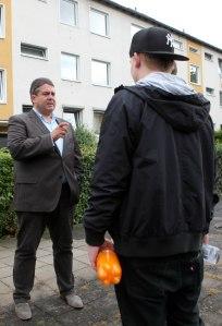 SPD Wahlkampf mit Gabriel und Ehehgeheimnisse