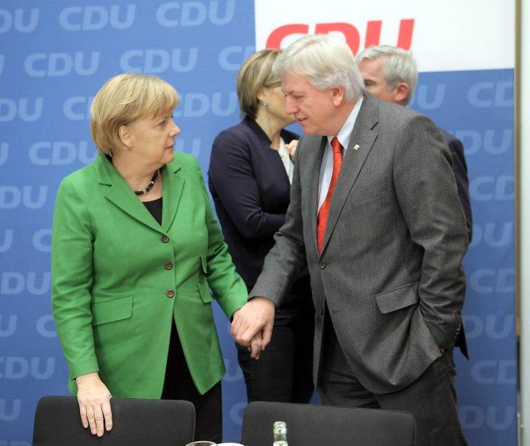 Merkel BuVo und CDU
