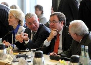 Koalitionsgespraeche SPD und Union
