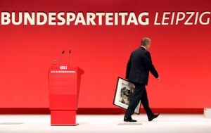 SPD Bundesparteitag in Leipzig