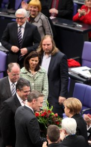 Kanzlerinwahl im Bundestag