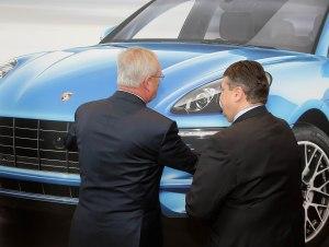 Porsche Eroeffnung in Leipzig