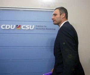 Klitschko und CDU in Berlin