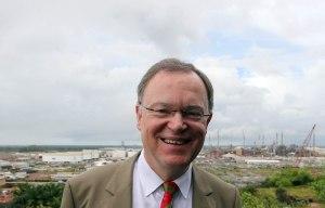 Stephan Weil in Brasilien