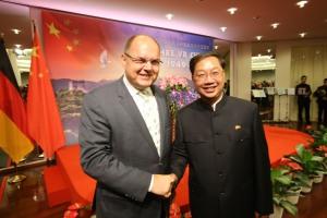 China wird 65 in Deutschland