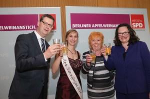 SPD Hessen Apfelweinanstich